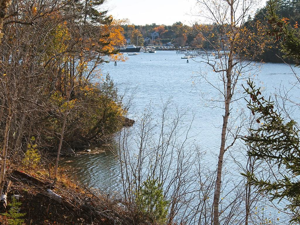 Fall and Northeast Harbor marina