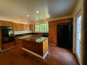 Cherry Cabinets with self close doors and granite counters