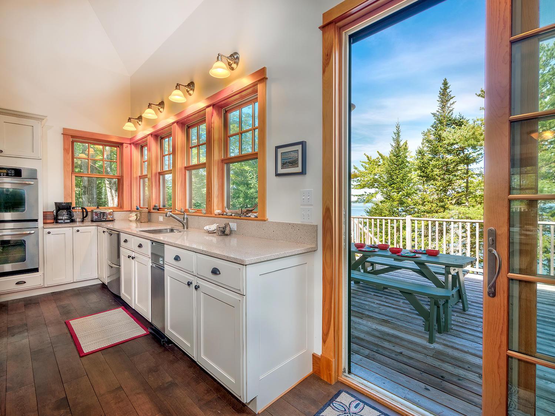 5-Kitchen to Deck 41 Northwest Cove HiRe