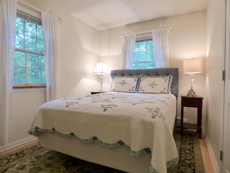Downstairs Bedroom 1 with Queen Bed