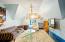 Penthouse suite TV room