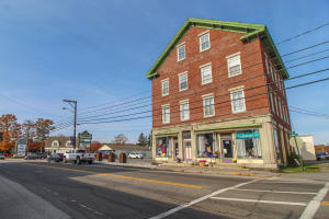 Historical 3 1/2 story multi-unit commercial building in Downtown Searsport.