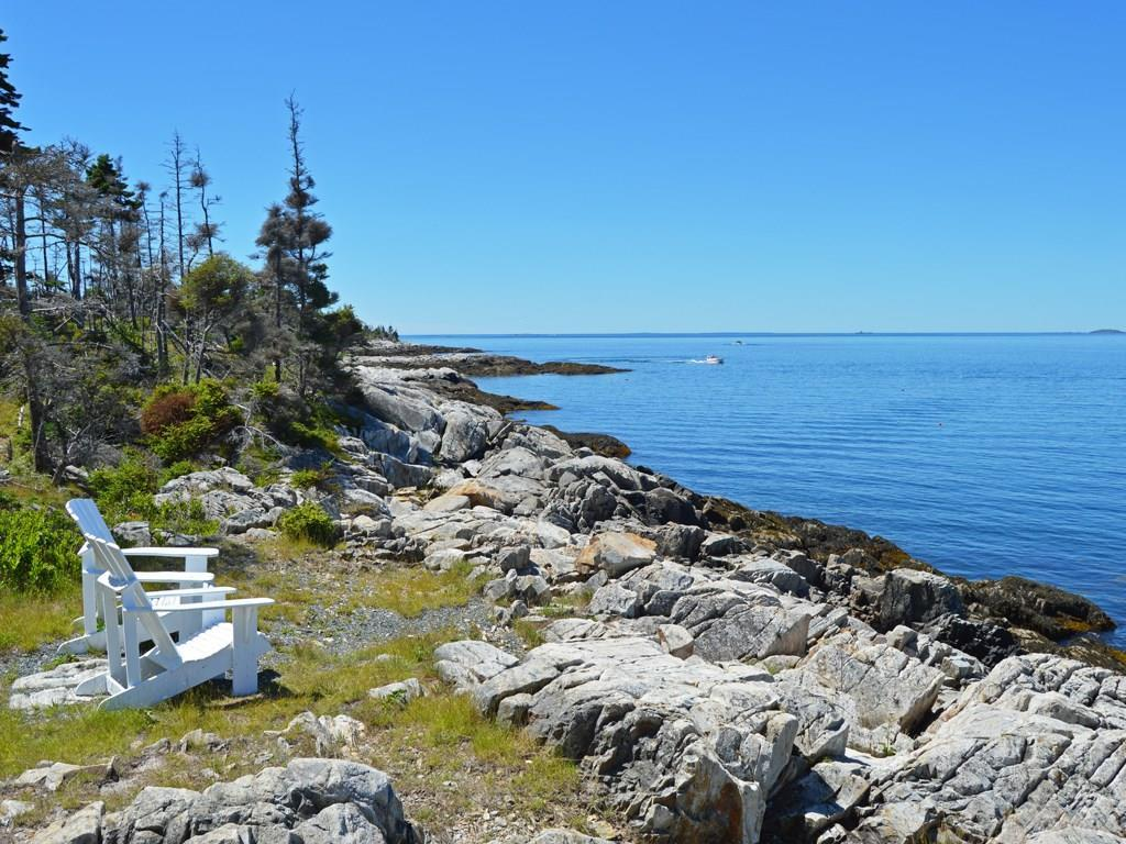 The dramatic rockbound coast.