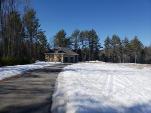 Cleared lot for sale with Garage build for 2 cars, toy storage and large Bus or Camper bay.