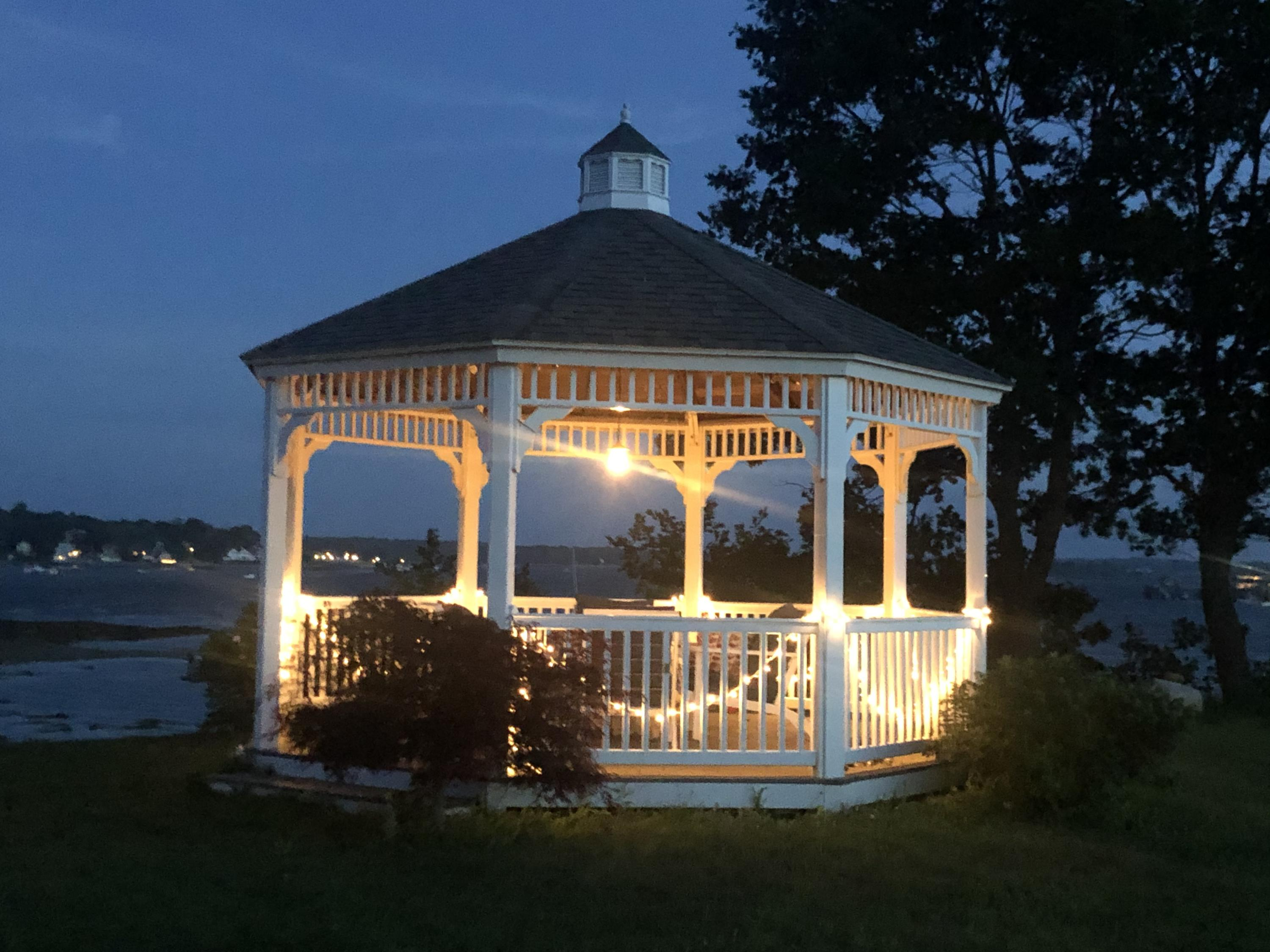 GDI gazebo night
