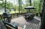 Large wrap around deck to enjoy the outdoors and entertain