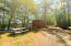 211 Caldwell Ln. Shed and Picnic area.