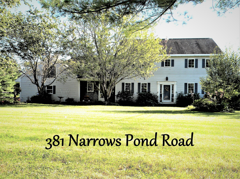 381 Narrows Pond Road, Winthrop, ME 04364