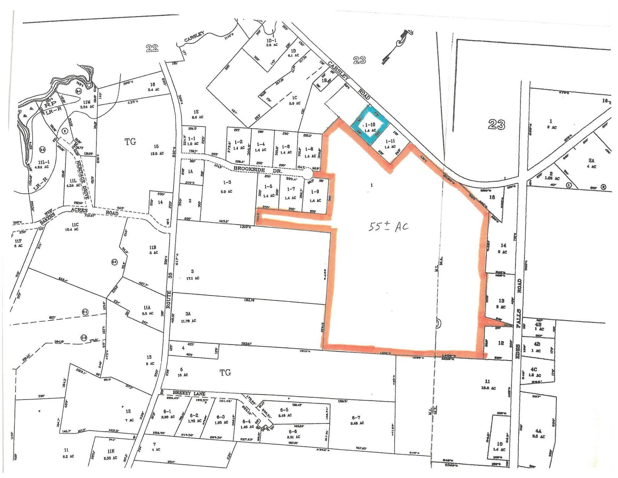 Lot #1 Carsley Road, Harrison, ME 04040