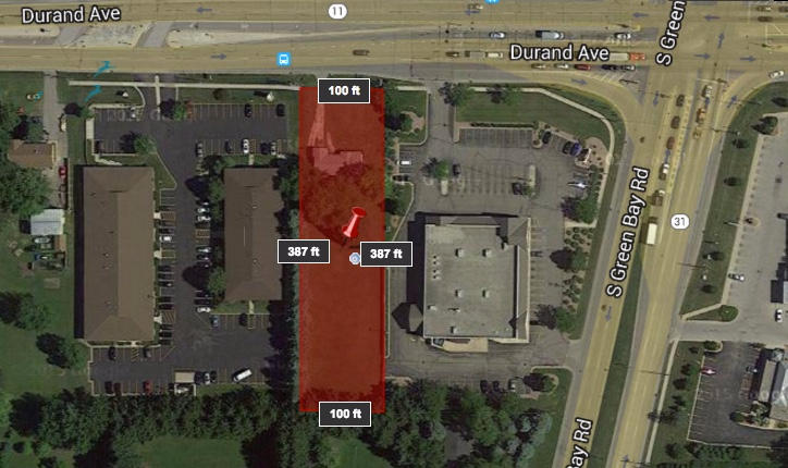 6205 Durand Ave, Mount Pleasant, Wisconsin 53406, ,Vacant Land,For Sale,Durand Ave,1481011