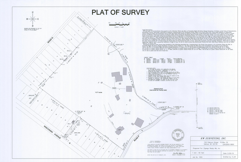 N50W34548 Road P, Oconomowoc, Wisconsin 53069, ,Vacant Land,For Sale,Road P,1546223