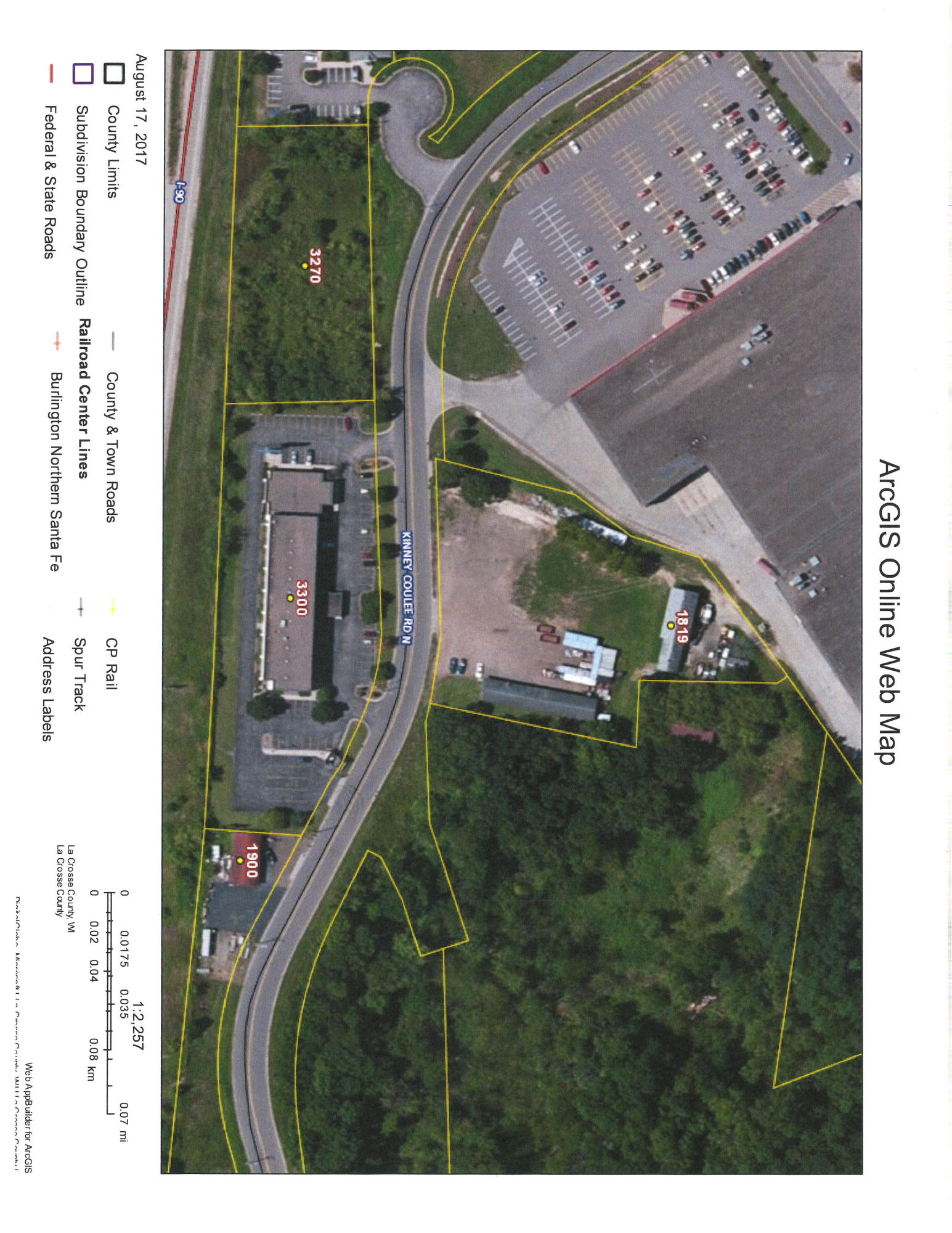 1819 KINNEY COULEE RD N, Onalaska, Wisconsin 54650, ,Vacant Land,For Sale,KINNEY COULEE RD N,1569551