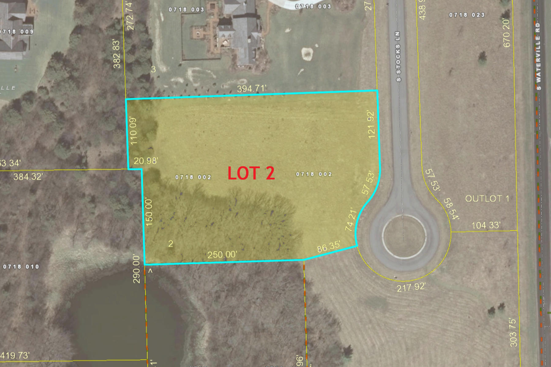 Lt 2 Stocks Rd, Summit, Wisconsin 53066, ,Vacant Land,For Sale,Stocks Rd,1571340