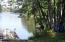 Menominee River frontage of common area