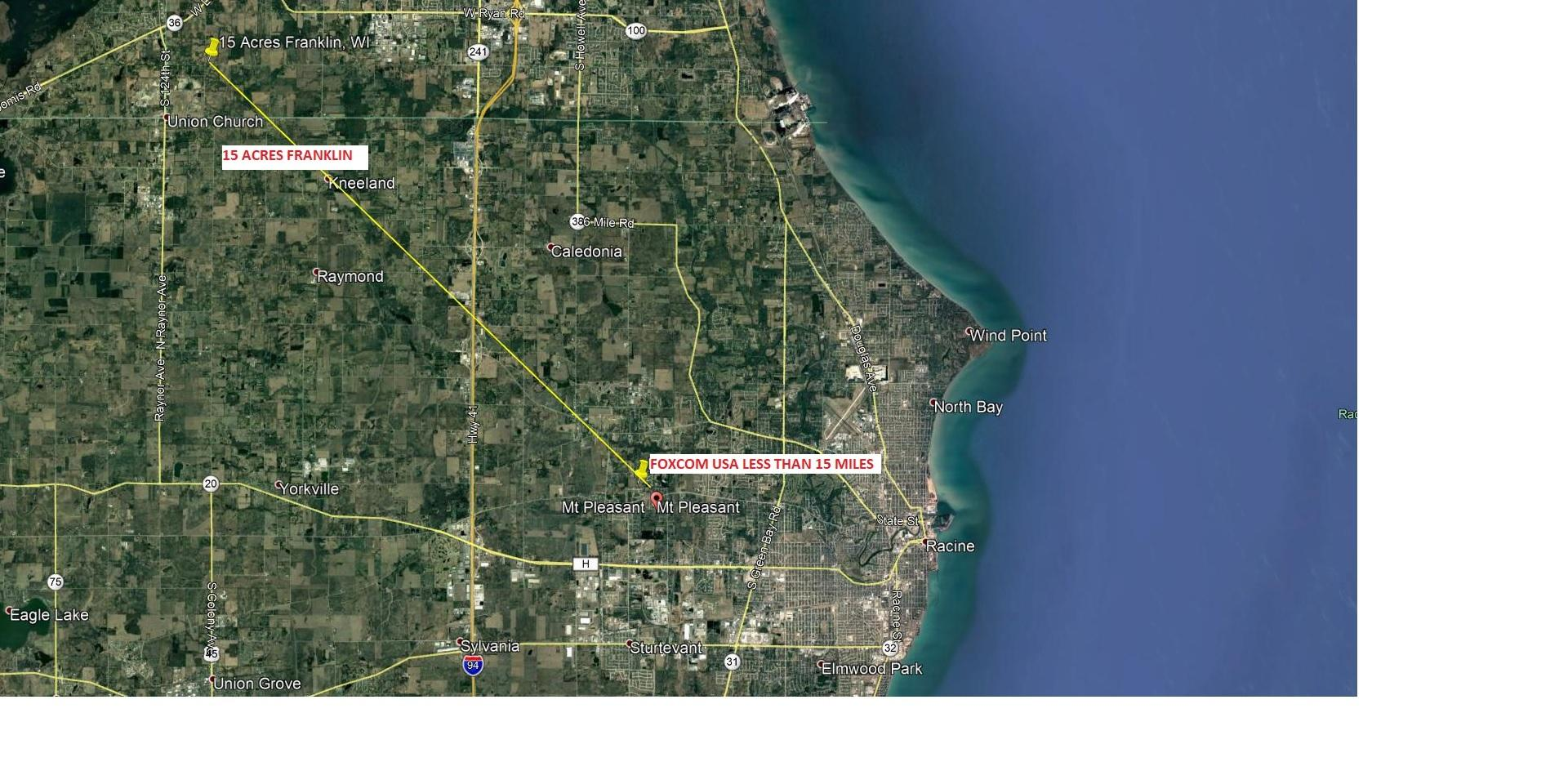 9900 112th St, Franklin, Wisconsin 53132, ,Vacant Land,For Sale,112th St,1602897