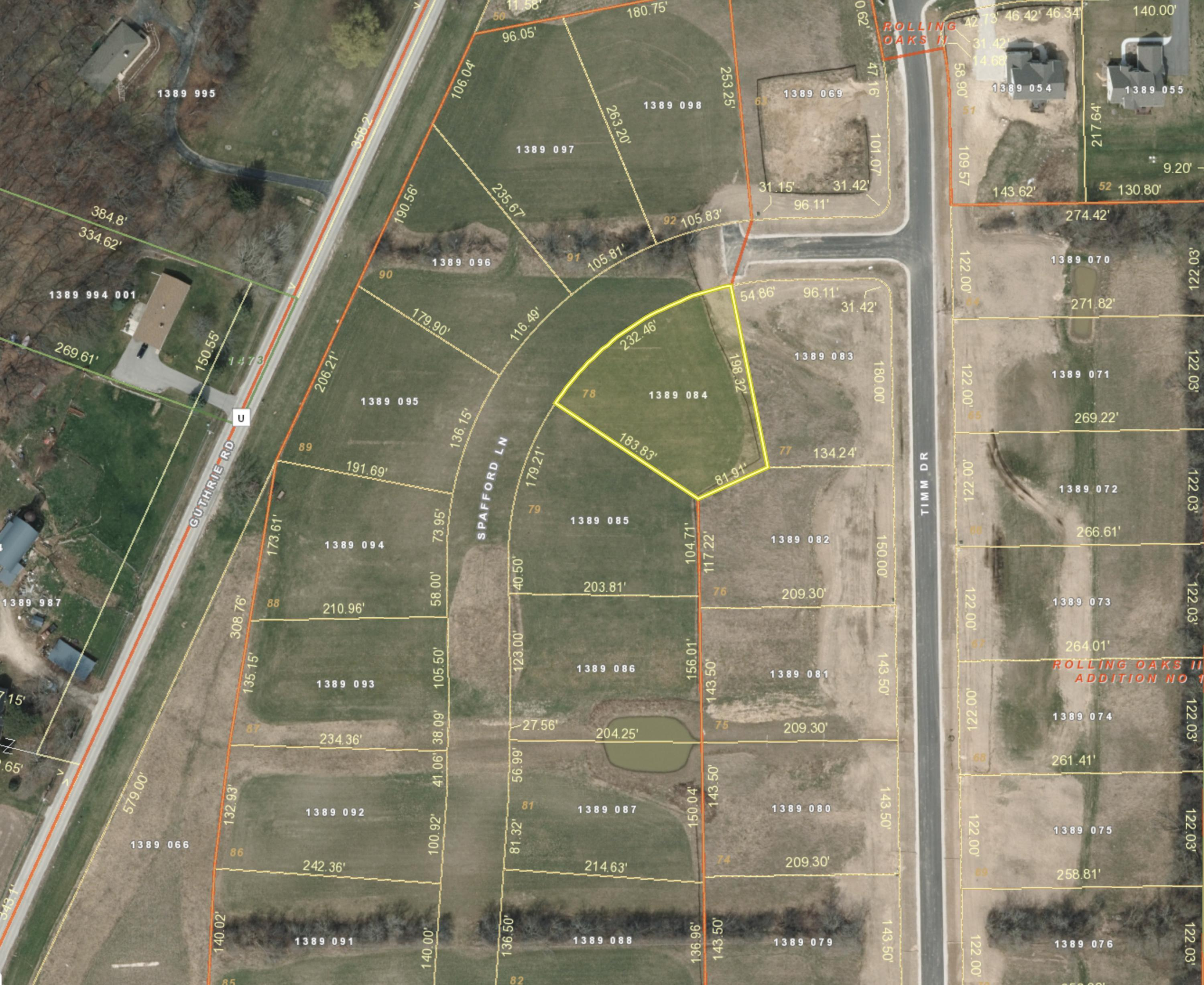 S41W22359 Spafford Ln, Waukesha, Wisconsin 53189, ,Vacant Land,For Sale,Spafford Ln,1608351