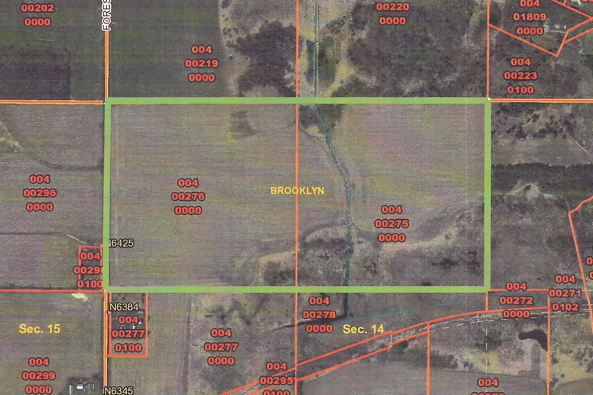 Forest Ridge Rd, Brooklyn, Wisconsin 54941, ,Vacant Land,For Sale,Forest Ridge Rd,1568903
