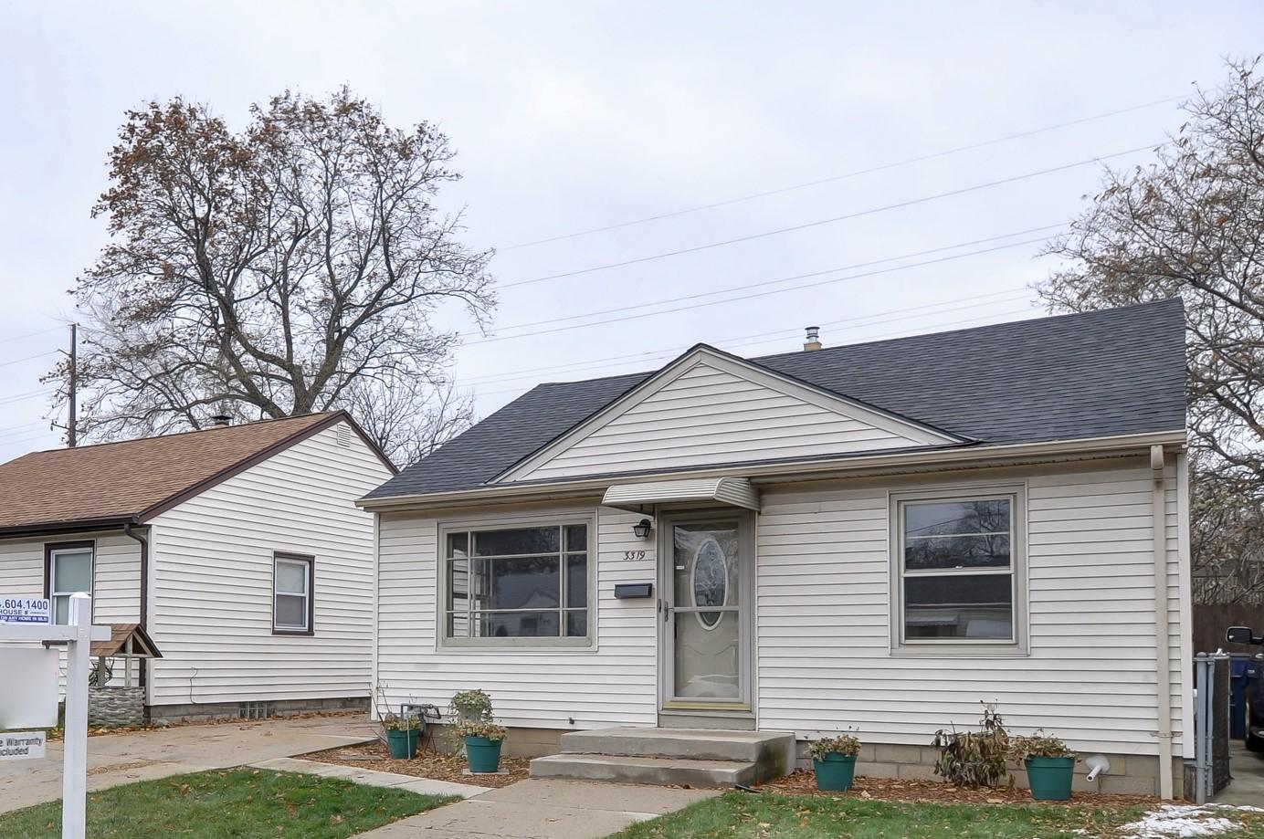 3319 Ellen St., Milwaukee, Wisconsin 53207, 2 Bedrooms Bedrooms, 4 Rooms Rooms,1 BathroomBathrooms,Single-Family,For Sale,Ellen St.,1614578