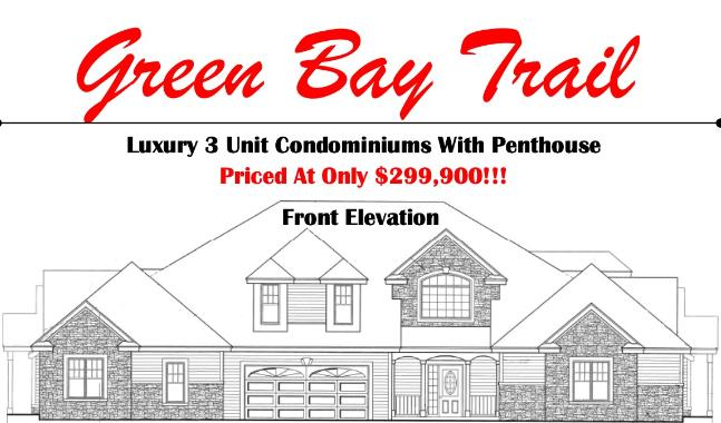 BLDG 10 65th Ave, Pleasant Prairie, Wisconsin 53158, 2 Bedrooms Bedrooms, 5 Rooms Rooms,2 BathroomsBathrooms,Condominiums,For Sale,65th Ave,1,1616396