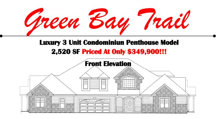 BLDG 12 65th Ave, Pleasant Prairie, Wisconsin 53158, 3 Bedrooms Bedrooms, 6 Rooms Rooms,2 BathroomsBathrooms,Condominiums,For Sale,65th Ave,2,1616401