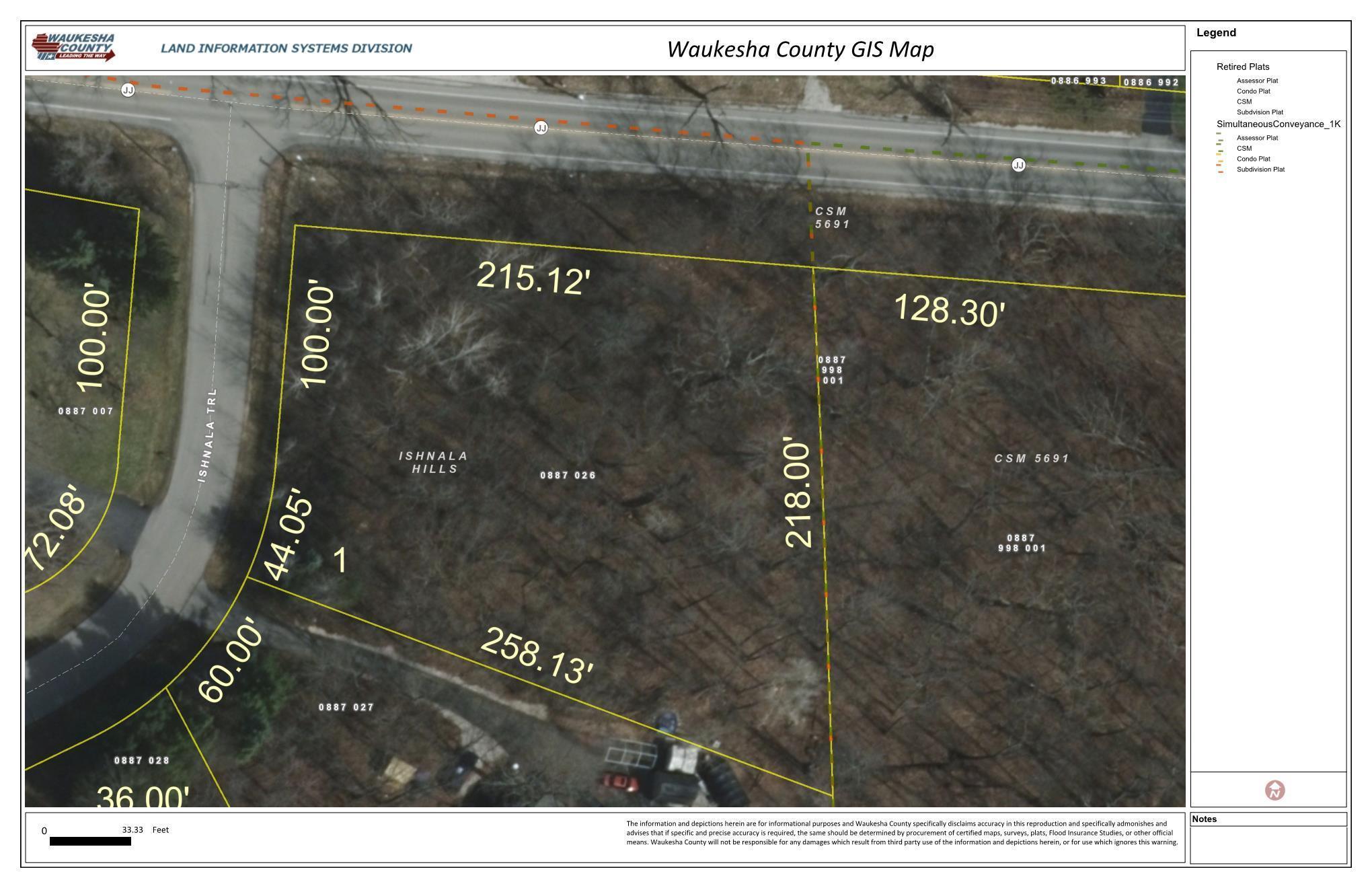Lt1 Ishnala Trl, Pewaukee, Wisconsin 53072, ,Vacant Land,For Sale,Ishnala Trl,1616625