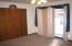 Master Bedroom has Patio Doors