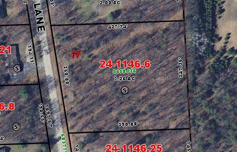 3.26 Acres Rustic Oak Ln, Peshtigo, Wisconsin 54157, ,Vacant Land,For Sale,Rustic Oak Ln,1619315