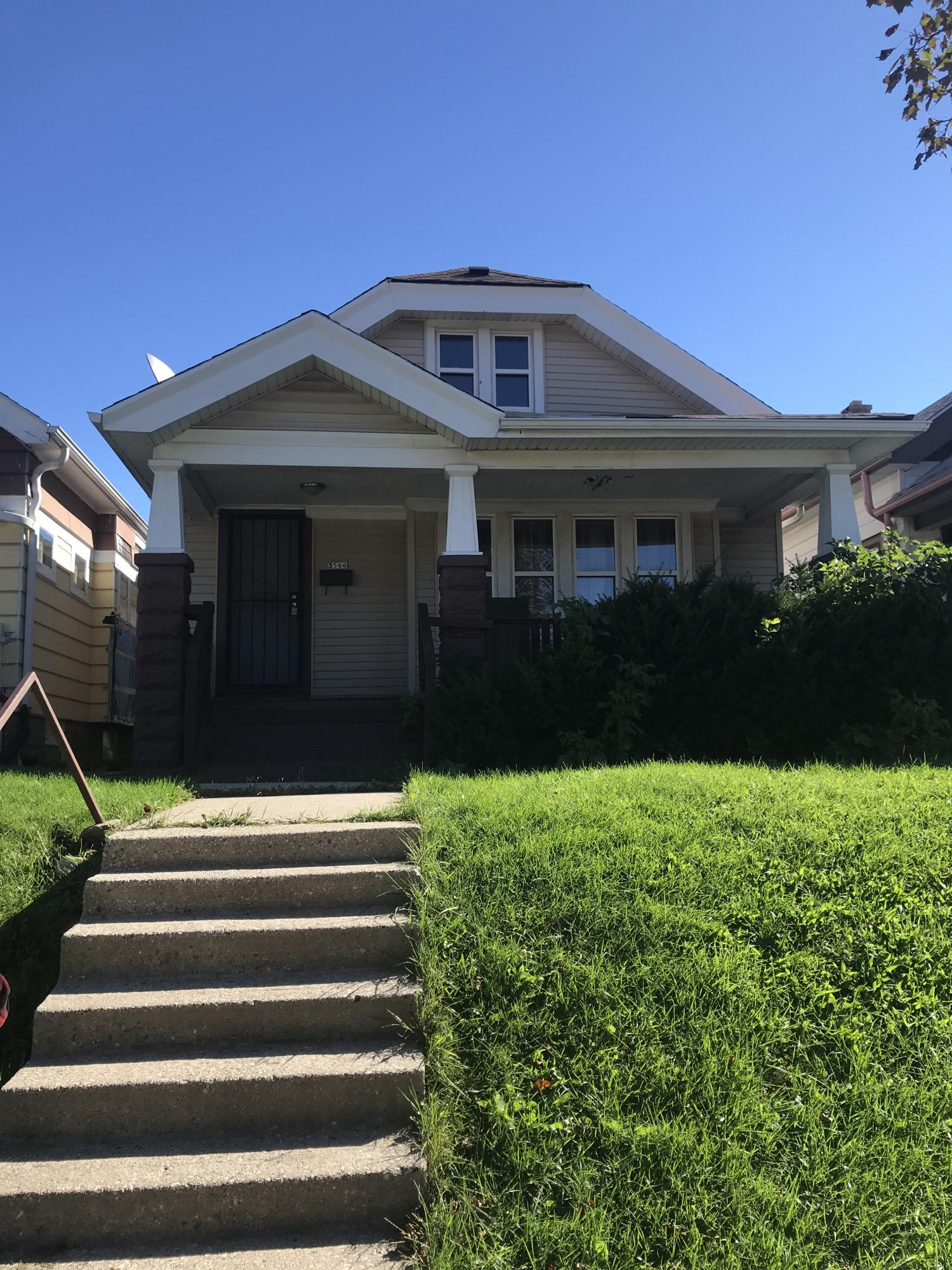 3566 13th St, Milwaukee, Wisconsin 53206, 4 Bedrooms Bedrooms, ,1 BathroomBathrooms,Single-Family,For Sale,13th St,1619496