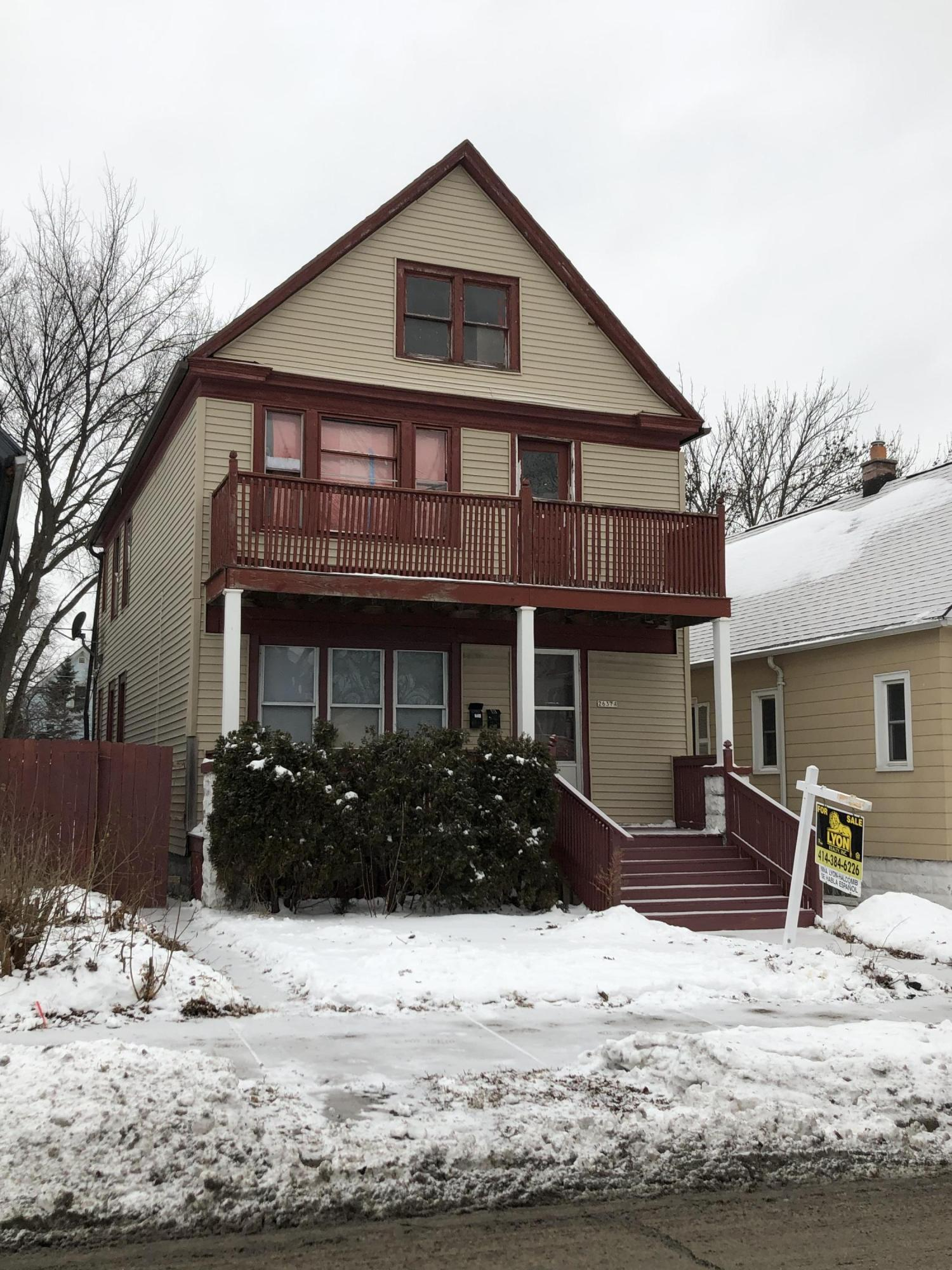 2637 9th PL, Milwaukee, Wisconsin 53215, 3 Bedrooms Bedrooms, 4 Rooms Rooms,1 BathroomBathrooms,Two-Family,For Sale,9th PL,1,1620483