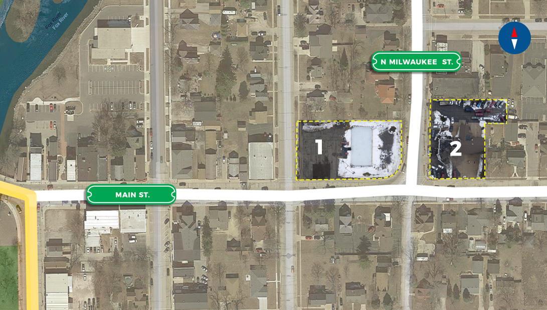103 Milwaukee N St, Waterford, Wisconsin 53185, ,Vacant Land,For Sale,Milwaukee N St,1627141