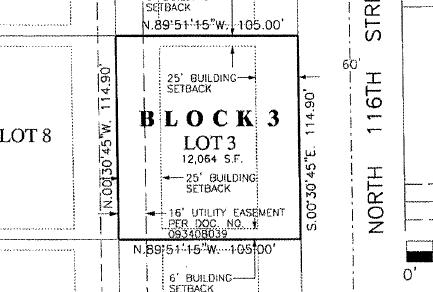 8631 116th St, Milwaukee, Wisconsin 53224, ,Vacant Land,For Sale,116th St,1626492