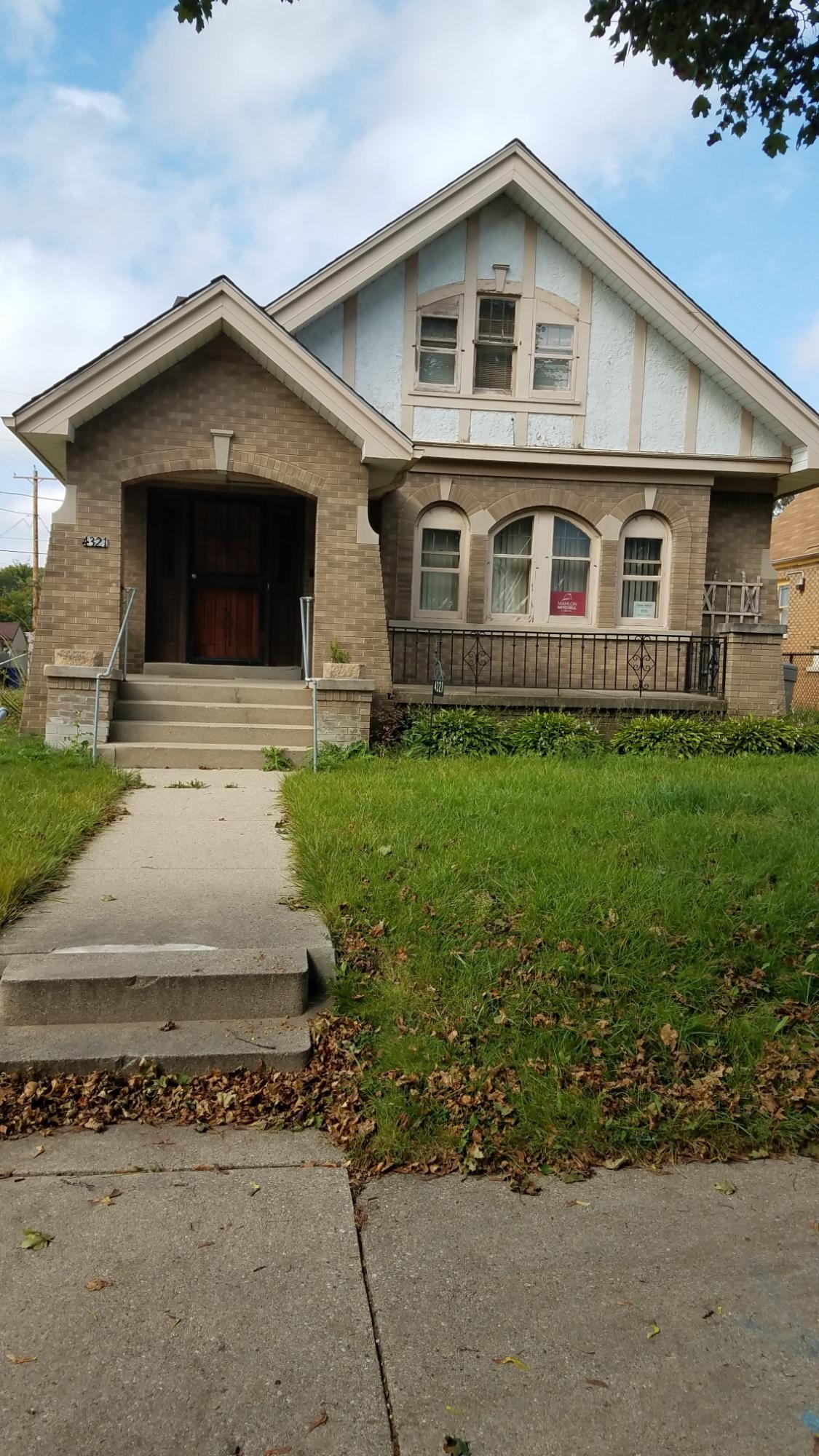 4321 28th St, Milwaukee, Wisconsin 53216, 2 Bedrooms Bedrooms, 6 Rooms Rooms,1 BathroomBathrooms,Two-Family,For Sale,28th St,1,1626878