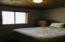 Two additional bedrooms on the lower level