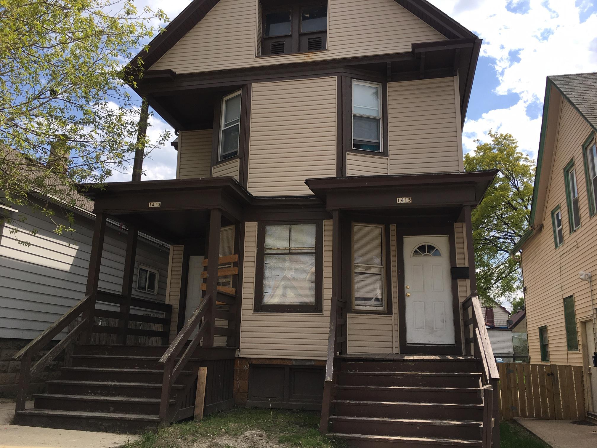 1413 Greenfield Ave, Milwaukee, Wisconsin 53204, ,Multi-Family Investment,For Sale,Greenfield Ave,1623374