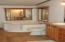 Master bath with corner tub & separate shower stall