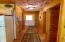 Hall from mud room to great room