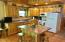Kitchen with Hickory cabinets