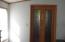 Master bedroom doors to en suite bath