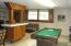 28 x 24 family room in basement has large windows