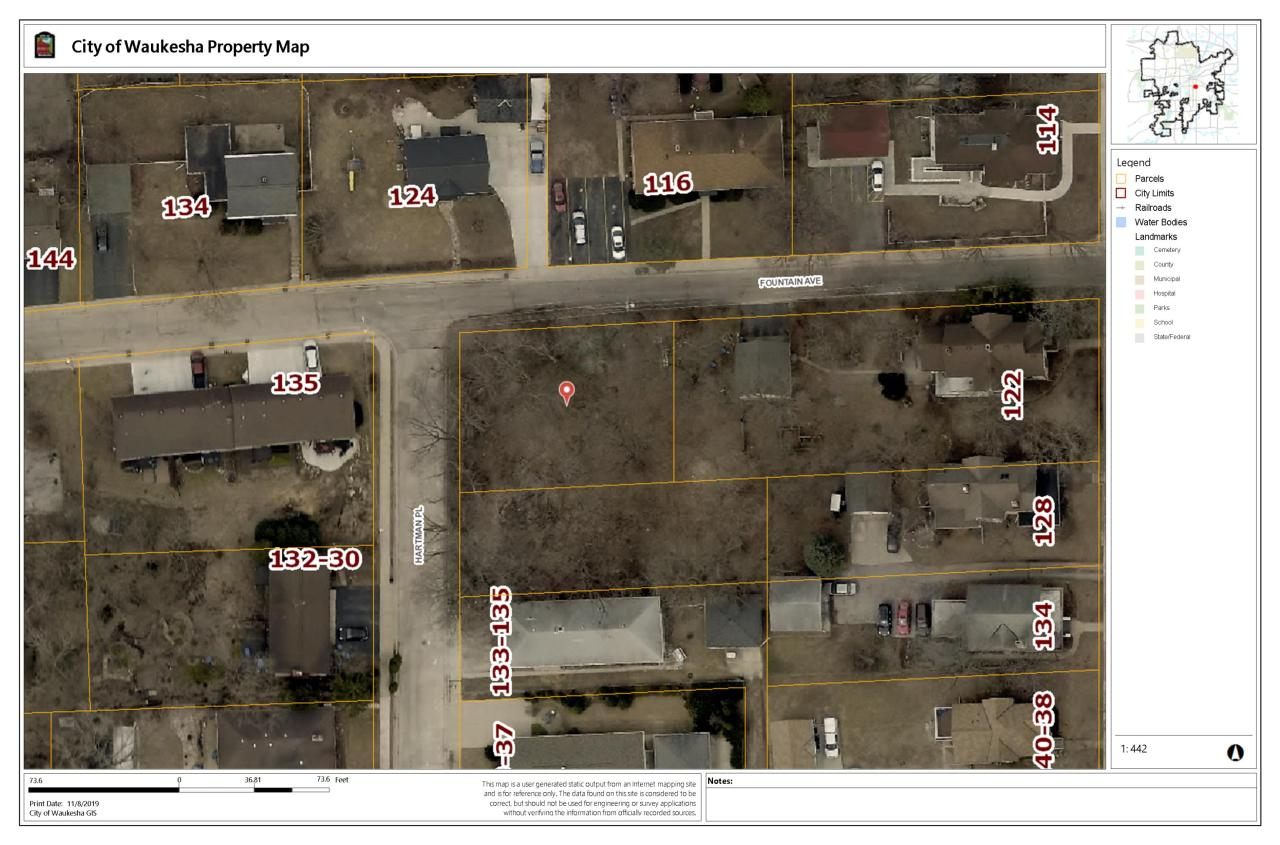 Lt1 Fountain Ave, Waukesha, Wisconsin 53186, ,Vacant Land,For Sale,Fountain Ave,1667257