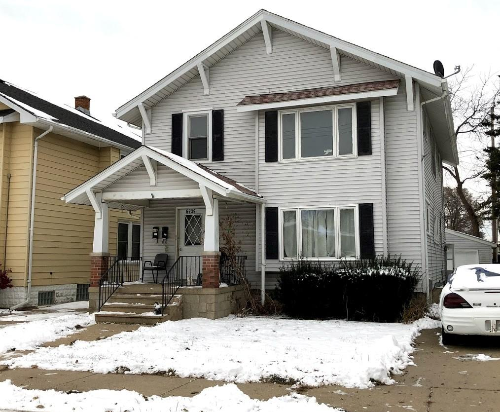 6739 32nd Ave, Kenosha, Wisconsin 53142, 2 Bedrooms Bedrooms, 4 Rooms Rooms,1 BathroomBathrooms,Two-Family,For Sale,32nd Ave,1,1667771