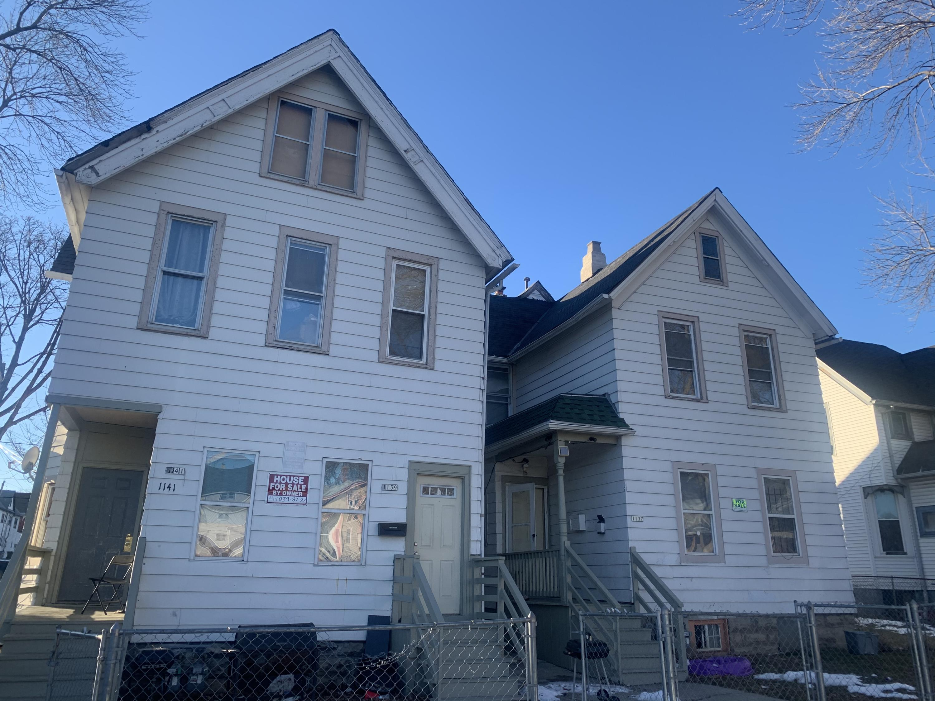 1137 20th St, Milwaukee, Wisconsin 53204, ,Multi-Family Investment,For Sale,20th St,1724980