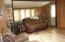 living room has nice flooring