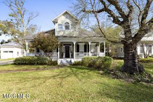 One of the most interesting homes you will see with it's timeless,reclaimed features that are only found in distinctive older homes. The owner carefully  'rescued' and restored the windows, hardwood floors marble vanities, and stairs from prominent beach front homes in Biloxi & Ocean Springs. In this home those qualities are combined with all the comforts of modern construction.