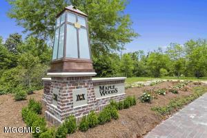 Location, Location, Location! Maple Woods is in walking distance of shopping, dining, recreation, schools and businesses of Ocean Springs. It's in the heart of town and a convenient stroll to everything! Your future dream home can be realized in this desirable, tucked away cul-de-sac!