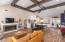 Open Floor Plan. Living Room,Den, and Kitchen.