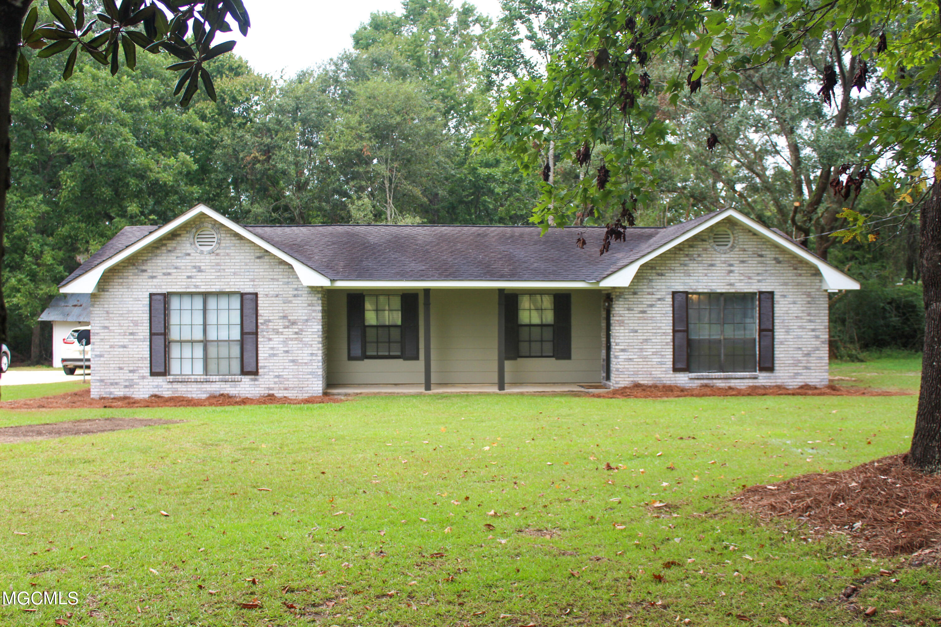 Completely updated 4 bedroom 2 bath home with small office on 2.4 acres. Additional large room that could be used for family room or formal dining area.  Vinyl plank flooring throughout.  Updated kitchen with granite countertops and subway tile backsplash. Brand new a/c