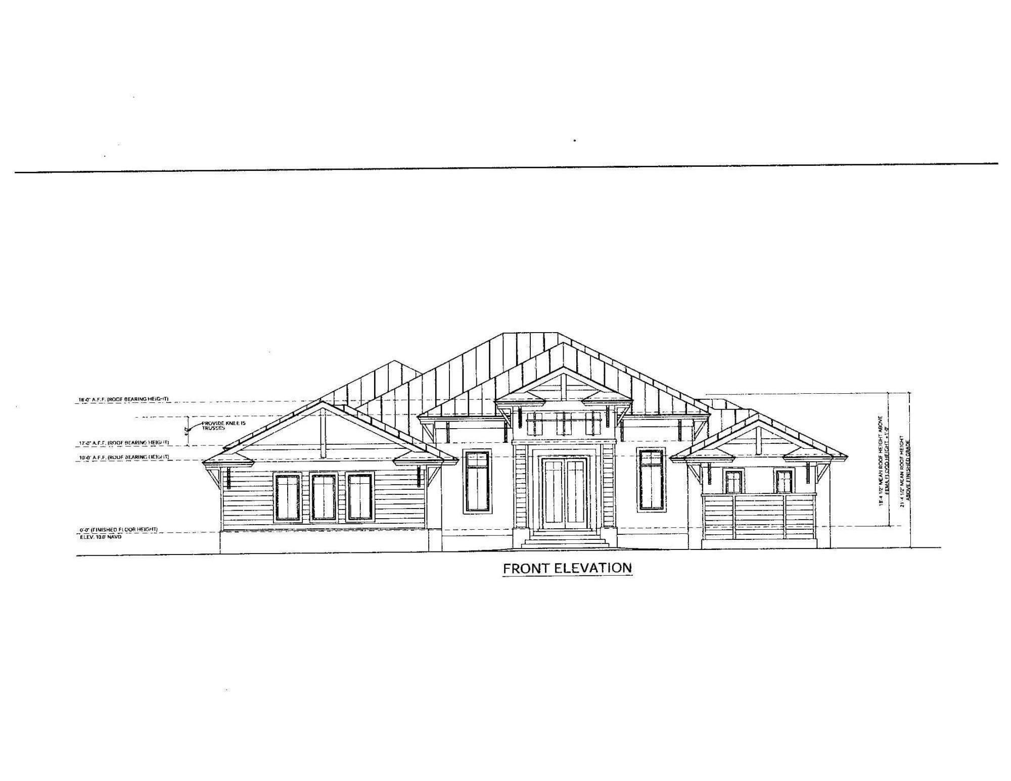 NEW Construction - coming Fall 2022 -Your water direct paradise dream home in the prestigious Estates. One stop shopping can be all yours in this APM Custom Home dream oasis (Dave Wainscott Designs of Naples). All permits in place - Gopher Tortoises recently relocated by FWC, new seawall construction underway. Master craftsmanship awaits - 4 bedrooms all with walk in closets, 4.5 baths, office, game room (or convert into home theater).  A/C area = 4,351 sq. ft., total area under roof = 6,671 sq. ft. Master suite with his & her walk in closets and 42'' x 72'' soaking tub, large tile shower with body sprays, his & hers vanity sinks. Gourmet custom kitchen with all wood cabinets & granite countertops, all high end appliances including dual 48'' stove with double oven. Custom woodwork with trayed & coffered ceilings, Laundry room with upper & lower cabinets, sink, and folding counter space. Outdoor kitchen w/42'' gas grill, refrigerator, ice maker, beverage station/sink combo. 3 car garage w/8' doors. Your outdoor recreation world includes infinity edge pool & spa tub with gas heated ''auto fill'' system. Large sun deck/ledge complete with 2 fire bowls  with water features. Lanai will be pre-wired for roll down screens. Home will also feature a ''bug mister'' station. For your direct water access pleasure - 1,414 sq. ft. dock with 12,000 pound boat lift, and 9,000 pound triple jet ski lifts which will be set at 3 separate heights. Dock features a fish cleaning station, built in bench, electric, water & lighting. So, HURRY before all the finishing selections have been decided upon.