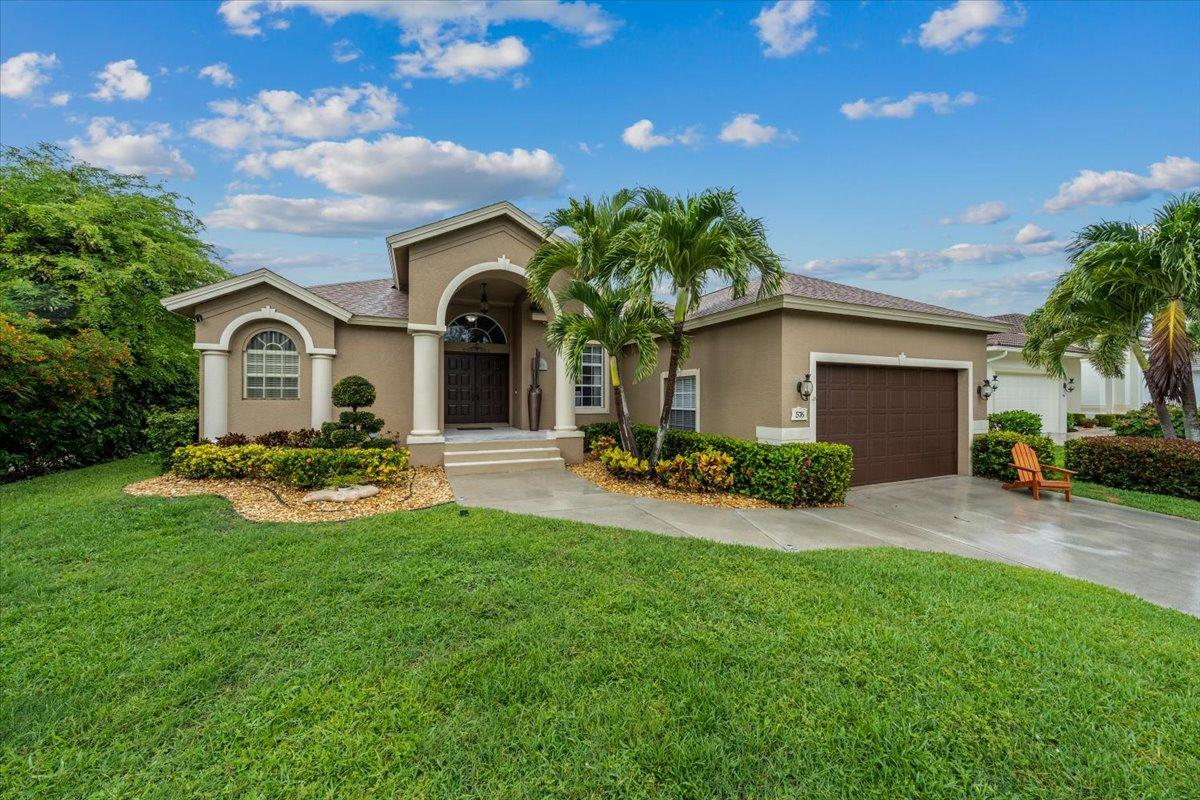 Beautifully & meticulously maintained home near Tigertail Beach on Marco Island. Must be seen to be appreciated for all of the details that are included. Features include double front doors, stainless appliances, vaulted ceilings, spacious master suite with pool access, large lanai & pool, beautiful landscaping. Technology features include Ring door camera, Ring exterior cameras, Ring water leak detection system, Ring security alarm, Smart WiFi Thermostat, Sprinkler Timer, Garage Door Opener & Smart Programmable Gateway Lighting.  You can leave your home knowing that you have control and security from any where. Other details include new roof in 2018, A/C is 3 yrs old, water heater 4 yrs. old, landscape lights, storm protection on all windows & sliders, outdoor showers. Located on a quiet cul-de-sac street in close proximity to Tigertail Beach and the Eagle Sanctuary.