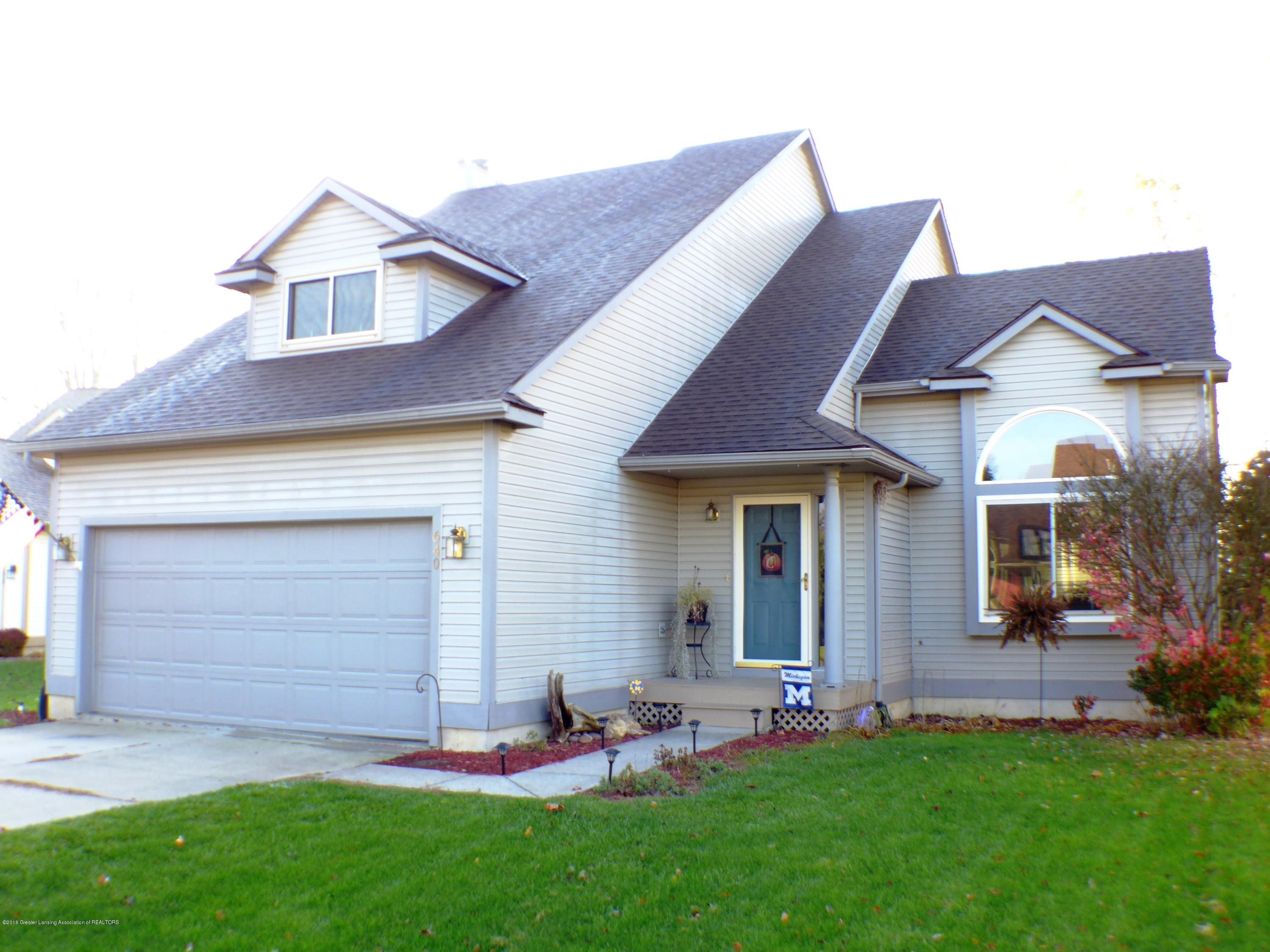640 Winding River Way - Front Exterior - 1